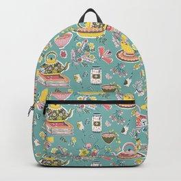 Tea Fest_Turquoise Backpack