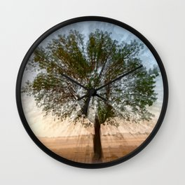Sunset in Spain Wall Clock