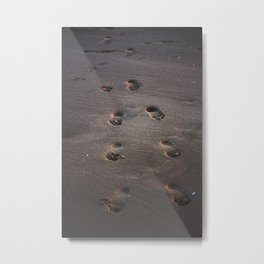Burn In the Sand Metal Print