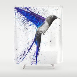 Coming Home In The Rain Shower Curtain