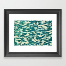 Lake Water Framed Art Print