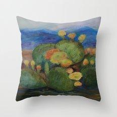Tucson Cactus MM151207f-12 Throw Pillow