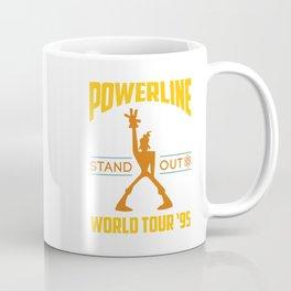 Powerline World Tour 95' Concert Tee Coffee Mug