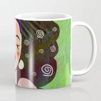 geisha Mugs featuring GEISHA by SAMHAIN