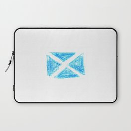 flag of scotland 6– scotland,scot,scottish,Glasgow,Edinburgh,Aberdeen,dundee,uk,cletic,celts,Gaelic Laptop Sleeve