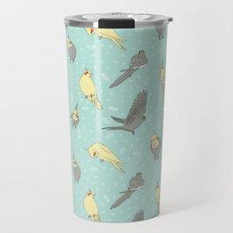 Cockatiel pattern Travel Mug