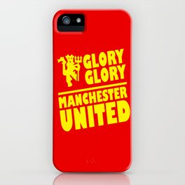 Slogan Reds iPhone Case