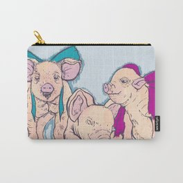 3 Little Pigs Carry-All Pouch