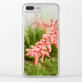 Texas Red Yucca or Lily Flower Clear iPhone Case