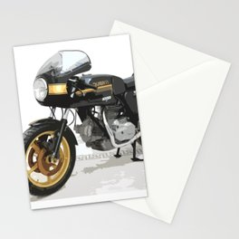 Iconic motorcycle - digital art Stationery Cards