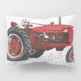 Farmall Super M, International Harvester Tractor Drawing Pillow Sham