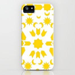 Golden Arabesque iPhone Case