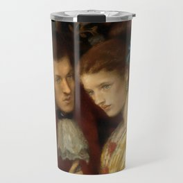 "Dante Gabriel Rossetti ""Washing hands"" Travel Mug"