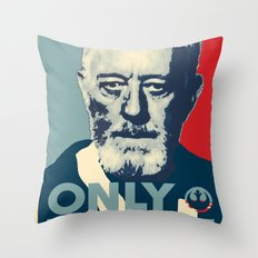 OBI WAN the Only Hope Throw Pillow