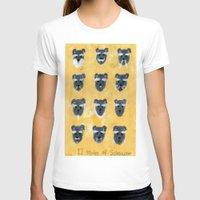 schnauzer T-shirts featuring Schnauzer by Sonia Ku