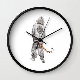 Fierce Attitude Wall Clock