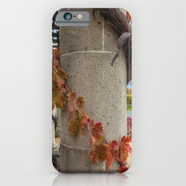 Column with Grapevine II iPhone Case