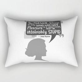 [Jane Austen] Book Lover Rectangular Pillow