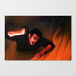 Talk To Me Devil Again Canvas Print