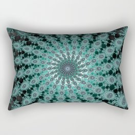 Fractal Whirlwind Rectangular Pillow
