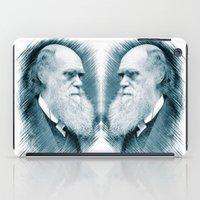 darwin iPad Cases featuring Charles Darwin by Zandonai