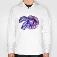goldfish Hoodies featuring Goldfish by Slaveika Aladjova