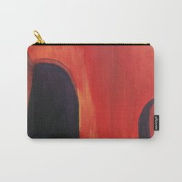 Impressionist Stand Up Jazz Bass Art Carry-All Pouch