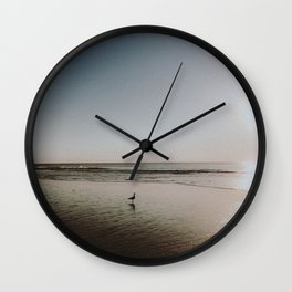 HALF MOON BAY Wall Clock