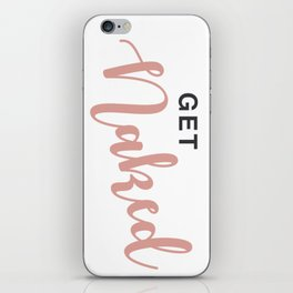 Get Naked iPhone Skin