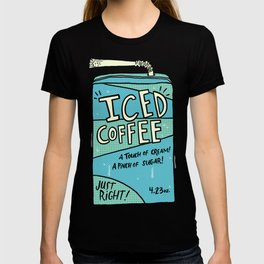 Iced Coffee Juicebox T-shirt