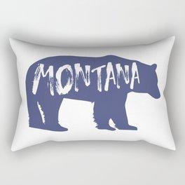 Montana Bear Rectangular Pillow