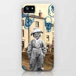 haunted child iPhone Case
