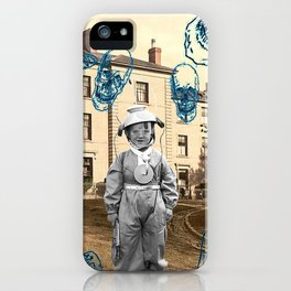 haunted child iPhone Case