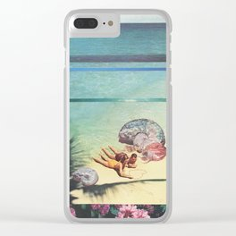 Sea Collections Clear iPhone Case