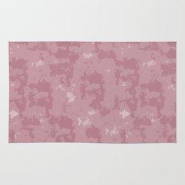 Abstract Rose Quartz Rug