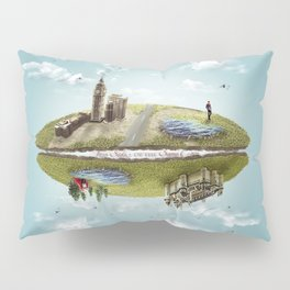 "Merlin- ""Two Sides of the Same Coin"" Pillow Sham"