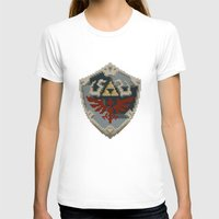 shield T-shirts featuring Link's Shield by s2lart