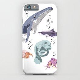 Sea Creatures iPhone Case
