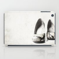 shoes iPad Cases featuring shoes by Ingrid Beddoes