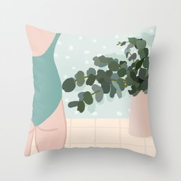 Body love Throw Pillow