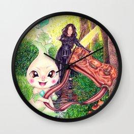 Pik the forest's goblin Wall Clock