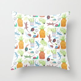Giardino Throw Pillow