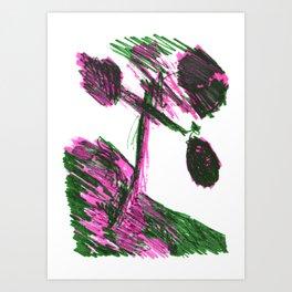 TREE SHIRT Art Print