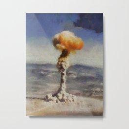 Mushroom Cloud Metal Print