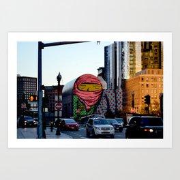 City Guardian Art Print