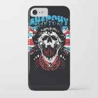 anarchy iPhone & iPod Cases featuring Anarchy queen by Tshirt-Factory