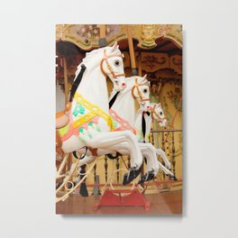 Off To The Races Metal Print