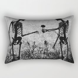 skeleton lovers Rectangular Pillow