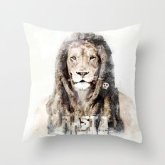 RASTASAFARI Throw Pillow