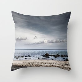 earth - water - sky Throw Pillow